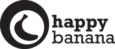 logo happy banana